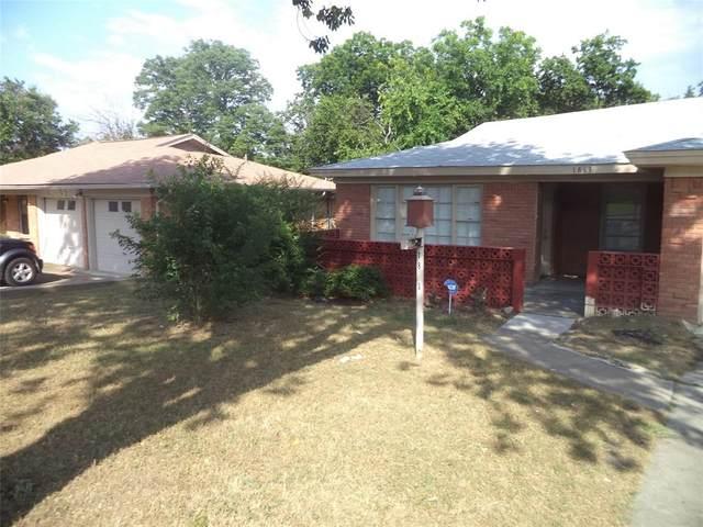 1813 Ellington Drive, Fort Worth, TX 76112 (MLS #14654134) :: Craig Properties Group