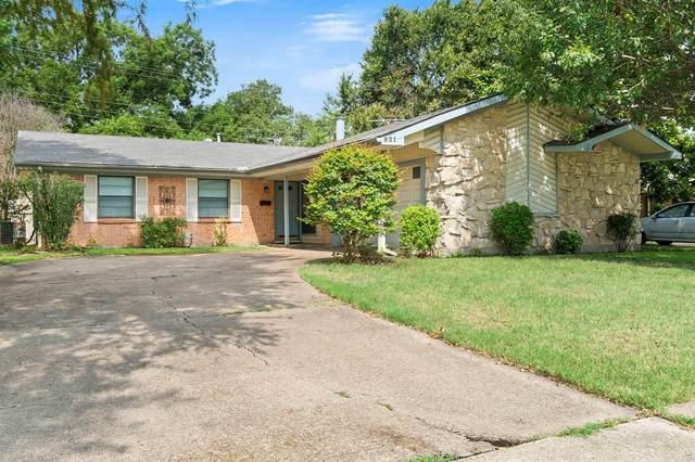 921 Lawson Drive, Garland, TX 75042 (MLS #14654216) :: Maegan Brest | Keller Williams Realty