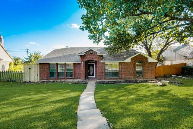 4637 Freeman Drive, The Colony, TX 75056 (MLS #14654836) :: Maegan Brest | Keller Williams Realty