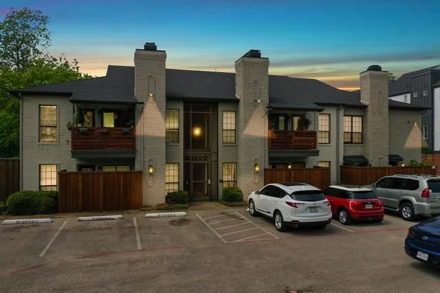 1503 N Garrett Avenue #110, Dallas, TX 75206 (MLS #14654907) :: The Good Home Team