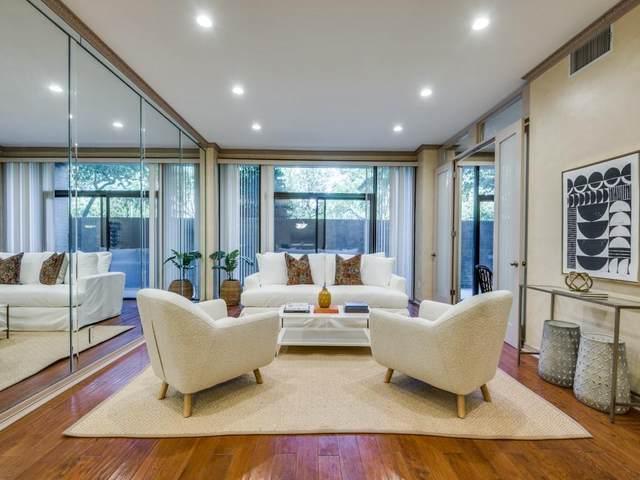 5200 Keller Springs Road #112, Dallas, TX 75248 (MLS #14654980) :: Robbins Real Estate Group
