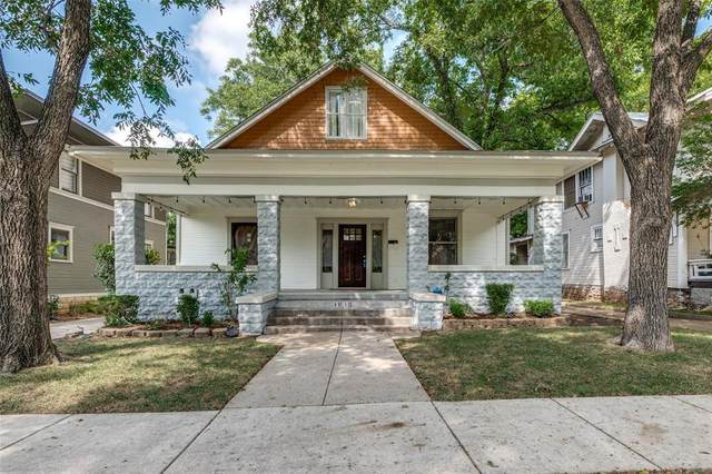1810 5th Avenue, Fort Worth, TX 76110 (MLS #14655306) :: Real Estate By Design