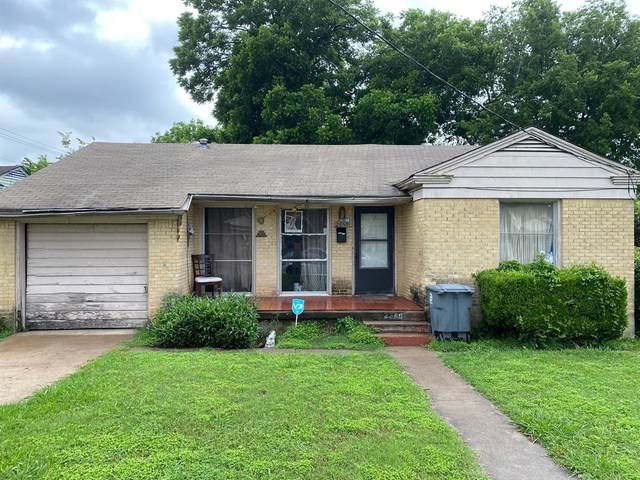 2859 Searcy Drive, Dallas, TX 75211 (MLS #14655370) :: Trinity Premier Properties