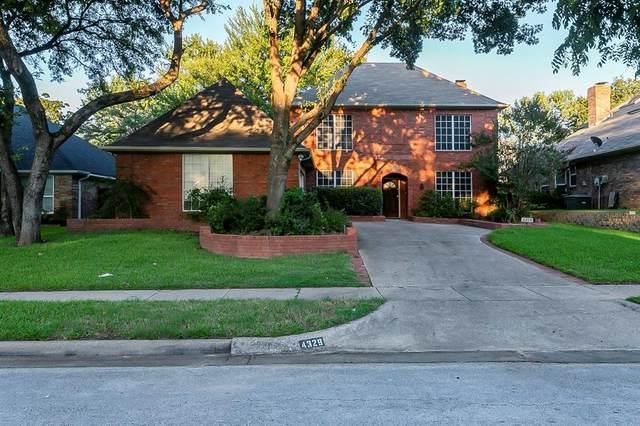 4329 Greenwood Lane, Grapevine, TX 76051 (MLS #14655906) :: Real Estate By Design