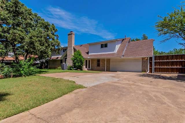 612 Ridgecrest Circle, Denton, TX 76205 (MLS #14656162) :: Real Estate By Design