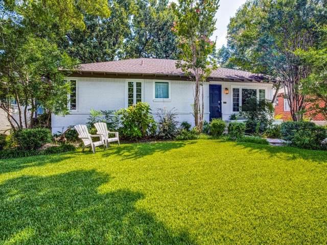 6166 Woodcrest Lane, Dallas, TX 75214 (MLS #14656484) :: Trinity Premier Properties