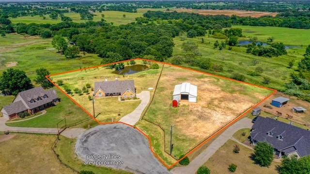 124 Caballos Lane, Springtown, TX 76082 (MLS #14656841) :: Craig Properties Group