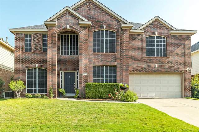 5545 Monthaven Drive, Fort Worth, TX 76137 (MLS #14657176) :: Craig Properties Group