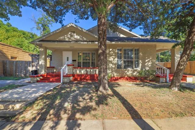 2311 Alston Avenue, Fort Worth, TX 76110 (MLS #14657235) :: Real Estate By Design