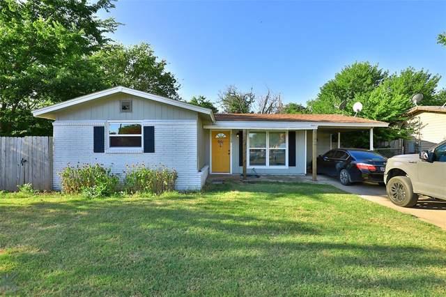 2509 S 27th Street, Abilene, TX 79605 (MLS #14657345) :: Russell Realty Group