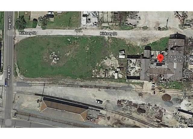 218 Kirksey Street, Sulphur Springs, TX 75482 (MLS #14657355) :: KW Commercial Dallas