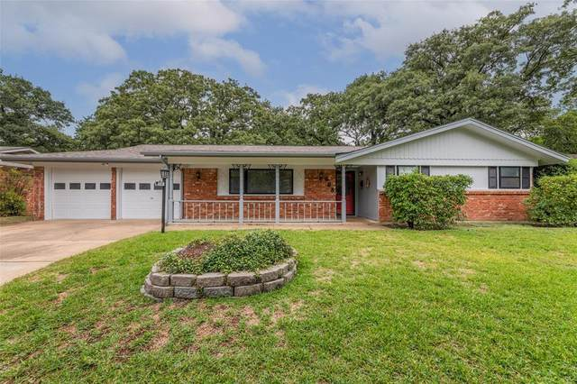 608 Post Oak Drive, Hurst, TX 76053 (MLS #14657812) :: Real Estate By Design