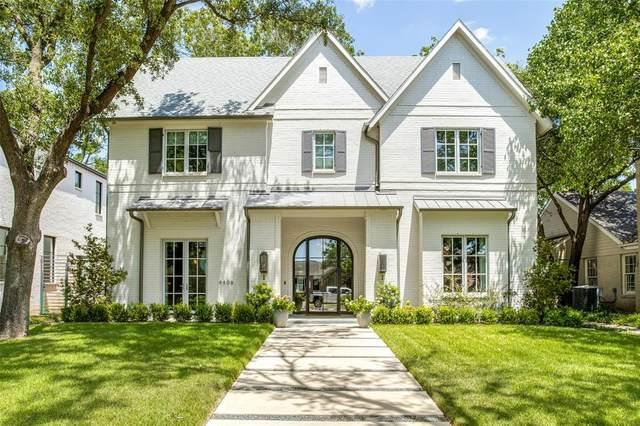 4408 Amherst Avenue, University Park, TX 75225 (MLS #14657862) :: Real Estate By Design