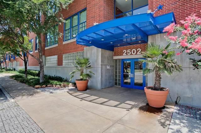2502 Live Oak Street #114, Dallas, TX 75204 (MLS #14657927) :: Real Estate By Design