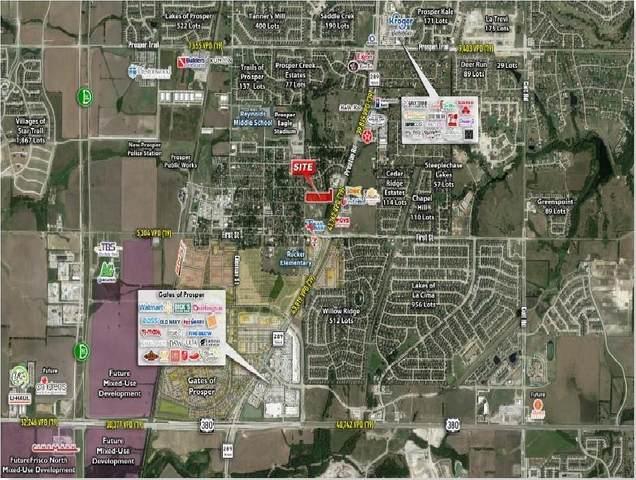 111 E Broadway Street, Prosper, TX 75078 (MLS #14658001) :: Real Estate By Design