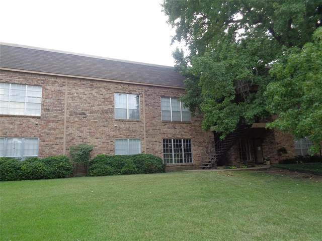 4413 Bellaire Drive S 105S, Fort Worth, TX 76109 (MLS #14659472) :: Robbins Real Estate Group