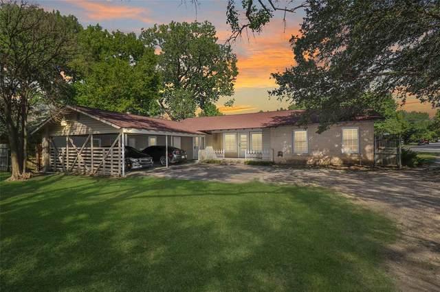 705 Country Club Road, Cleburne, TX 76033 (MLS #14659535) :: Maegan Brest | Keller Williams Realty