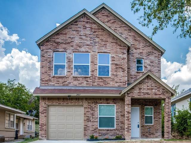 2407 Lee Avenue, Fort Worth, TX 76164 (MLS #14659957) :: Real Estate By Design