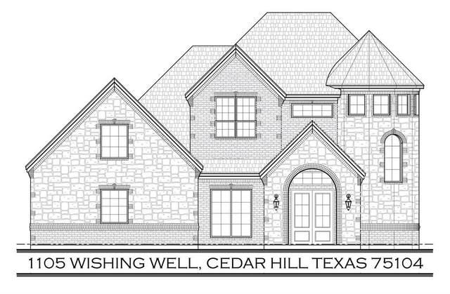 1105 Wishing Well, Cedar Hill, TX 75104 (MLS #14660002) :: Real Estate By Design