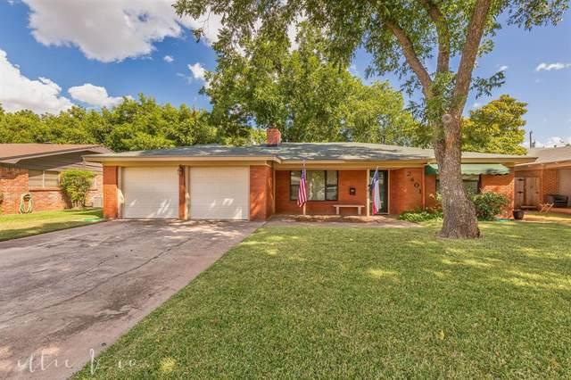 2401 Sylvan Drive, Abilene, TX 79605 (MLS #14660040) :: The Chad Smith Team