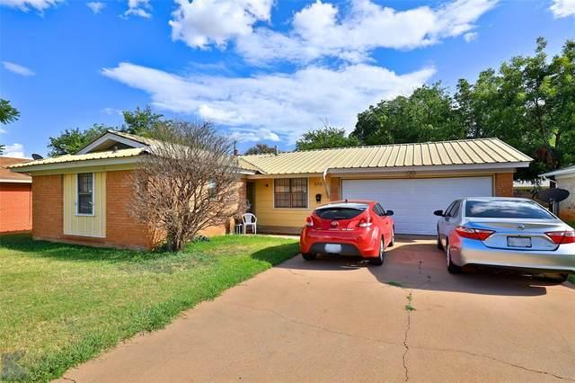 5333 Harwood Street, Abilene, TX 79605 (MLS #14660152) :: Real Estate By Design