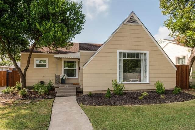 4931 Calmont Avenue, Fort Worth, TX 76107 (MLS #14660455) :: Maegan Brest   Keller Williams Realty