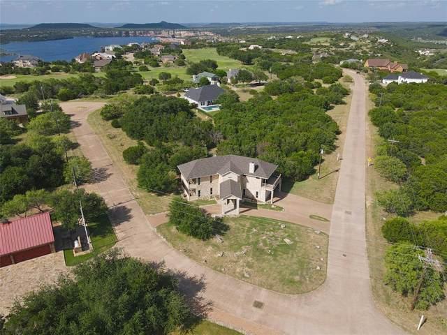 165 Colonial Drive, Possum Kingdom Lake, TX 76449 (MLS #14660581) :: The Rhodes Team