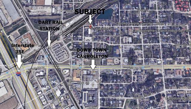 1212 Jackson Street, Carrollton, TX 75006 (MLS #14661065) :: KW Commercial Dallas