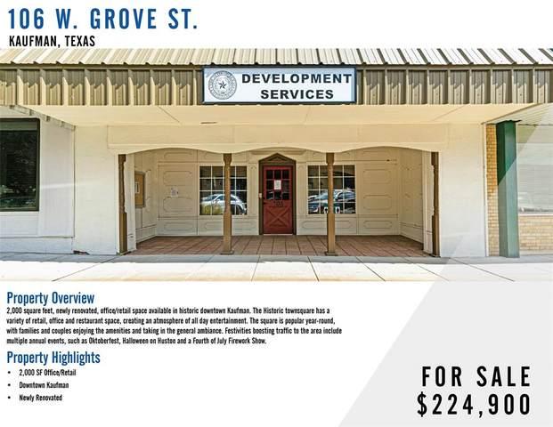 106 W Grove Street, Kaufman, TX 75142 (MLS #14661234) :: Trinity Premier Properties