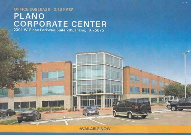 2301 W Plano Parkway #205, Plano, TX 75075 (MLS #14661256) :: KW Commercial Dallas