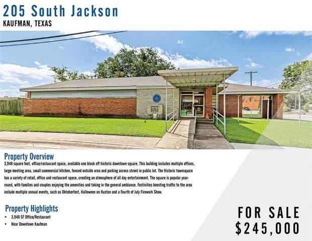 205 S Jackson Street, Kaufman, TX 75142 (MLS #14661344) :: Trinity Premier Properties