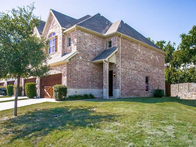 145 Preserve Place, Lewisville, TX 75067 (MLS #14661437) :: The Star Team | Rogers Healy and Associates