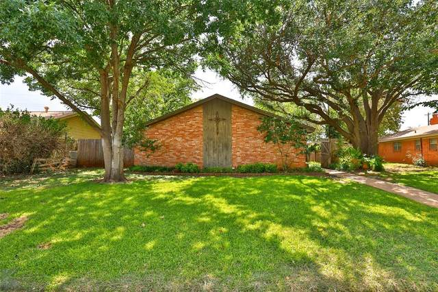 4109 Brookhollow Drive, Abilene, TX 79605 (MLS #14661749) :: Real Estate By Design