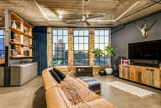 1122 Jackson Street #707, Dallas, TX 75202 (#14661776) :: Homes By Lainie Real Estate Group
