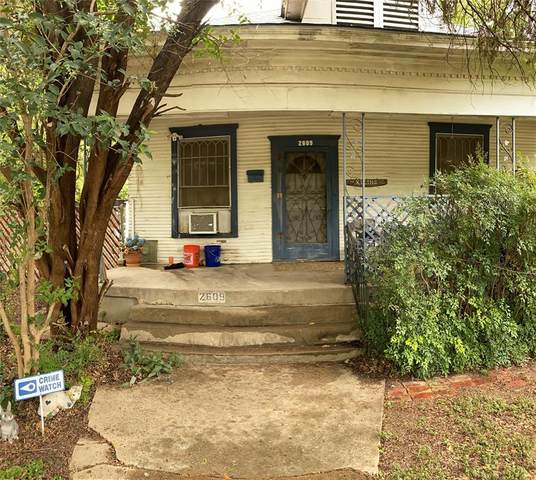 2609 College Avenue, Fort Worth, TX 76110 (MLS #14662008) :: Real Estate By Design
