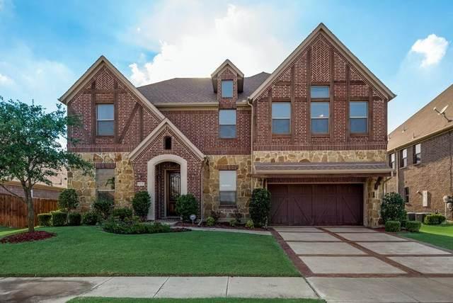 5125 Sylvan Shores Drive, Frisco, TX 75036 (MLS #14662095) :: Real Estate By Design