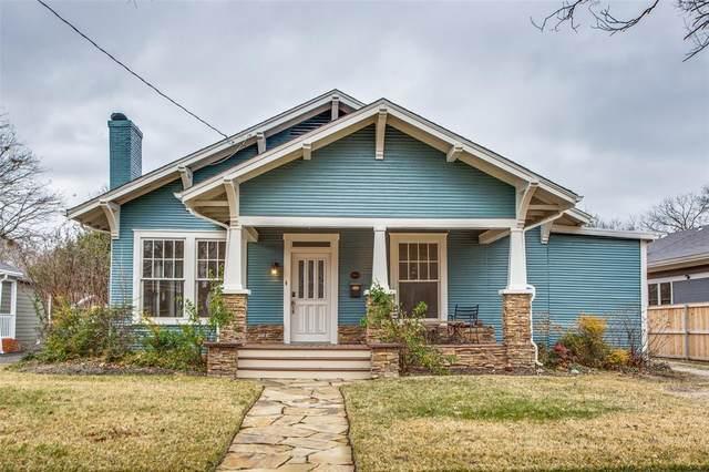 1115 N Hopson Street, Sherman, TX 75092 (MLS #14662268) :: Real Estate By Design