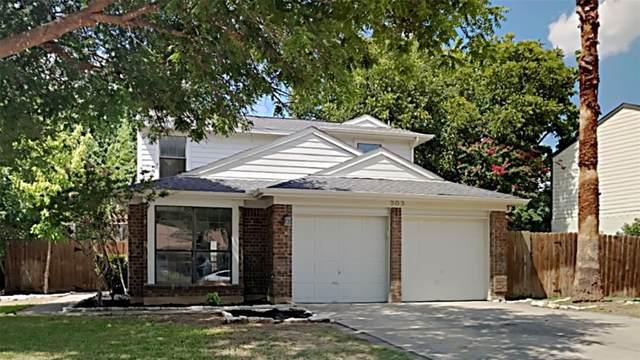 303 Sage Lane, Euless, TX 76039 (MLS #14662544) :: Real Estate By Design