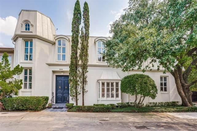 3802 S Versailles Avenue, Dallas, TX 75209 (MLS #14662801) :: Real Estate By Design