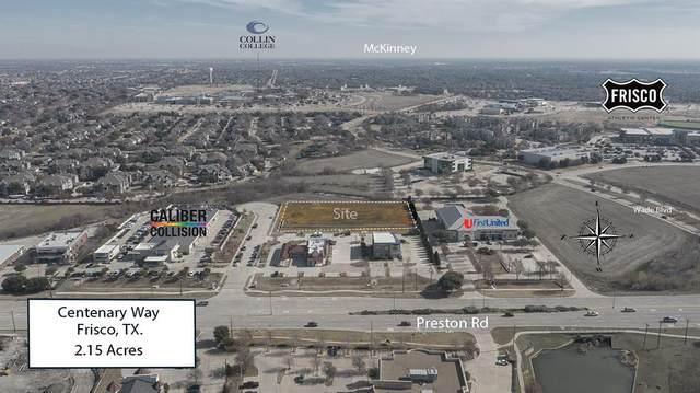 00 Centenary Way, Frisco, TX 75034 (MLS #14662892) :: Real Estate By Design