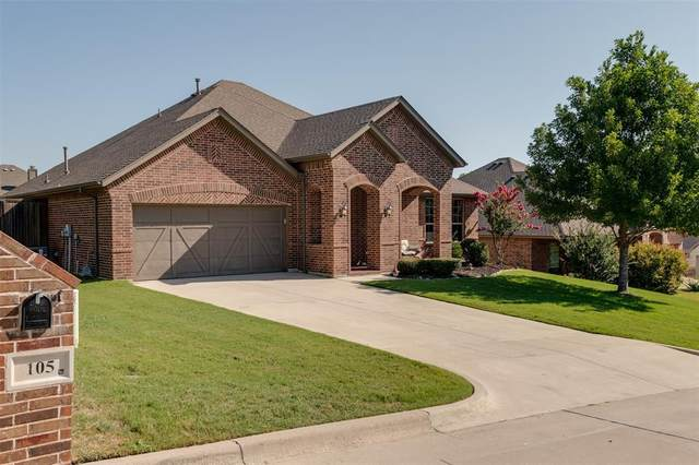 105 Valle Court, Azle, TX 76020 (MLS #14662912) :: Real Estate By Design