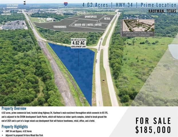 00 Highway 34, Kaufman, TX 75142 (MLS #14663040) :: Real Estate By Design