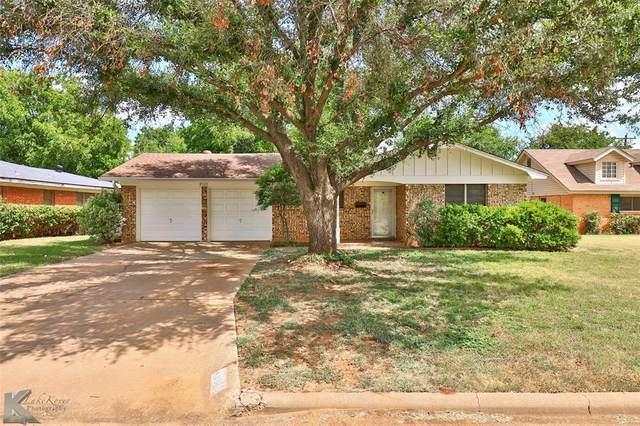 2533 Sylvan Drive, Abilene, TX 79605 (#14663136) :: Homes By Lainie Real Estate Group