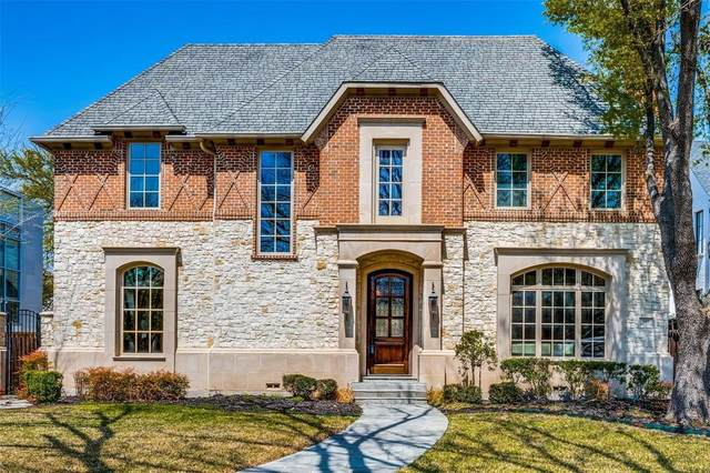 3408 Wentwood Drive, University Park, TX 75225 (MLS #14663157) :: The Chad Smith Team