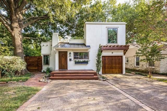 4722 W Amherst Avenue, Dallas, TX 75209 (MLS #14663328) :: Real Estate By Design