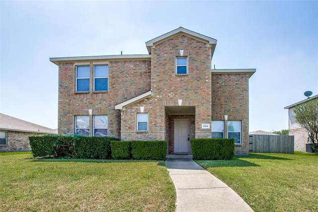 604 Snowy Orchid Lane, Desoto, TX 75115 (MLS #14663632) :: Real Estate By Design