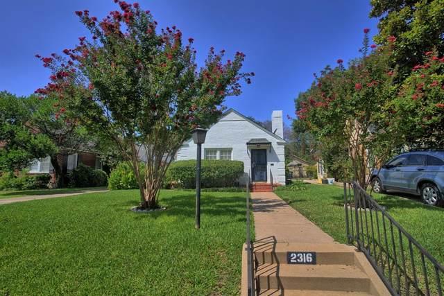 2316 Tremont Avenue, Fort Worth, TX 76107 (MLS #14663796) :: Craig Properties Group