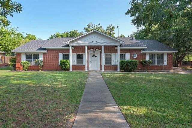 504 Mockingbird Lane, Weatherford, TX 76086 (MLS #14663888) :: Frankie Arthur Real Estate