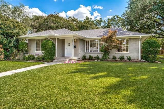 6604 Vada Drive, Dallas, TX 75214 (MLS #14664210) :: Real Estate By Design