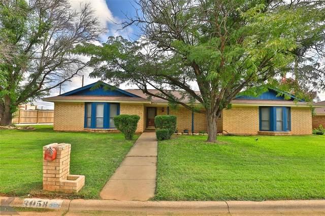 3058 Gilmer Avenue, Abilene, TX 79606 (MLS #14664250) :: Real Estate By Design